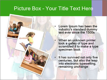 Elementary School Kids PowerPoint Templates - Slide 17
