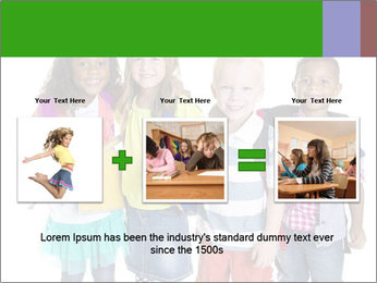 Elementary School Kids PowerPoint Template - Slide 22