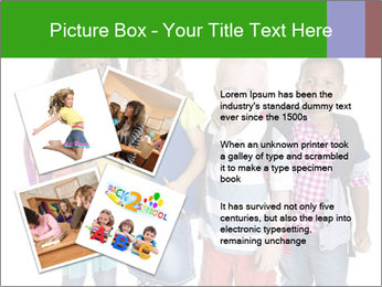 Elementary School Kids PowerPoint Templates - Slide 23