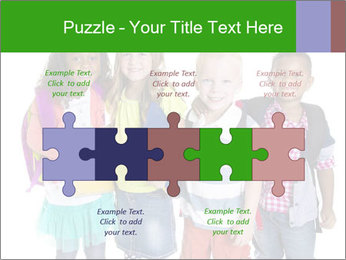 Elementary School Kids PowerPoint Templates - Slide 41