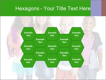 Elementary School Kids PowerPoint Templates - Slide 44