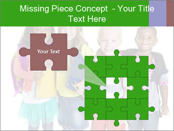 Elementary School Kids PowerPoint Templates - Slide 45