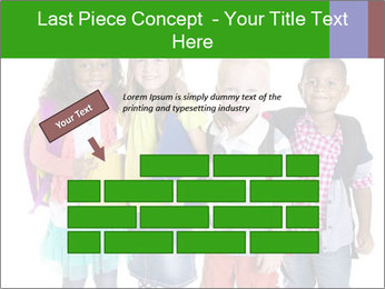 Elementary School Kids PowerPoint Templates - Slide 46