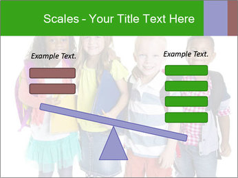 Elementary School Kids PowerPoint Templates - Slide 89