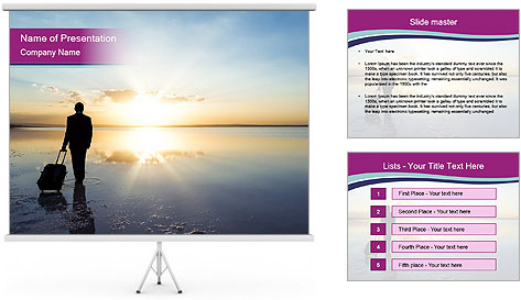 Traveler PowerPoint Template