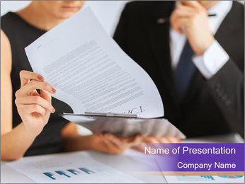 Business, office, law and legal concept PowerPoint Template