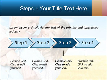Happy Senior PowerPoint Template - Slide 4