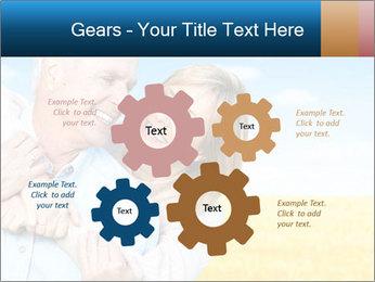 Happy Senior PowerPoint Template - Slide 47