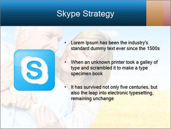 Happy Senior PowerPoint Template - Slide 8