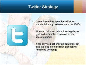 Happy Senior PowerPoint Template - Slide 9