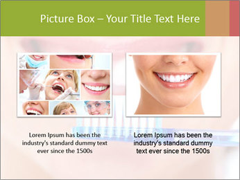 Beautiful woman with toothbrush PowerPoint Template - Slide 18