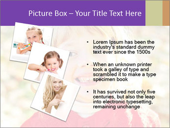 Little girl in fall missing PowerPoint Template - Slide 17
