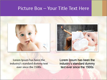 Little girl in fall missing PowerPoint Template - Slide 18