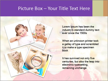 Little girl in fall missing PowerPoint Template - Slide 23