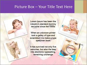 Little girl in fall missing PowerPoint Template - Slide 24