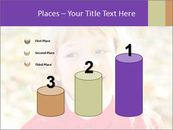 Little girl in fall missing PowerPoint Template - Slide 65