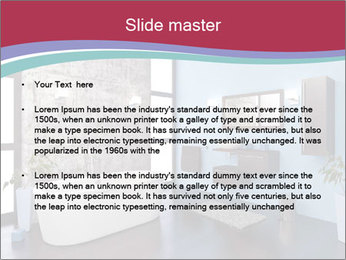Modeling and rendering PowerPoint Template - Slide 2