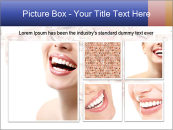 Smile collage PowerPoint Template - Slide 19