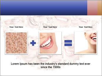 Smile collage PowerPoint Template - Slide 22