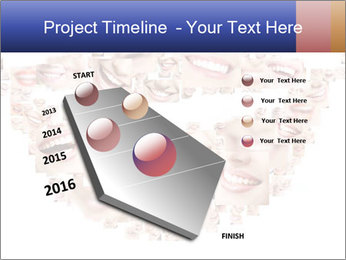 Smile collage PowerPoint Template - Slide 26