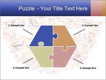 Smile collage PowerPoint Template - Slide 40
