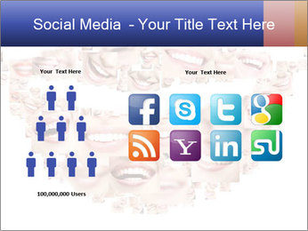 Smile collage PowerPoint Template - Slide 5