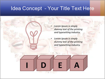 Smile collage PowerPoint Template - Slide 80