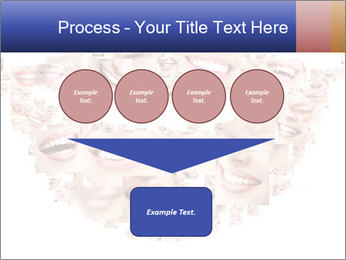 Smile collage PowerPoint Template - Slide 93