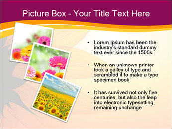 Sunflower PowerPoint Template - Slide 17