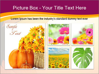 Sunflower PowerPoint Template - Slide 19