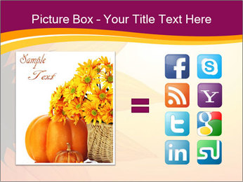 Sunflower PowerPoint Template - Slide 21