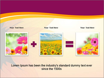 Sunflower PowerPoint Template - Slide 22