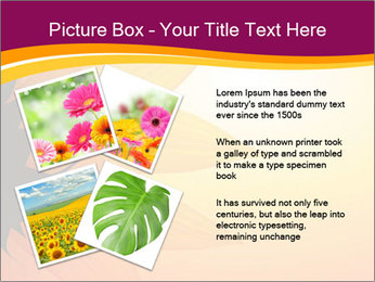 Sunflower PowerPoint Template - Slide 23