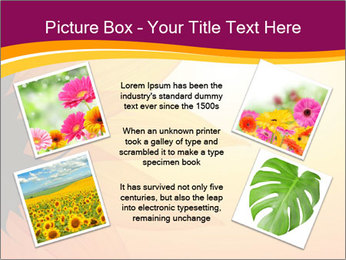 Sunflower PowerPoint Template - Slide 24