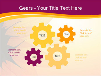 Sunflower PowerPoint Template - Slide 47
