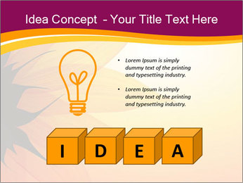 Sunflower PowerPoint Template - Slide 80