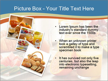 Breakfast with coffee PowerPoint Templates - Slide 17