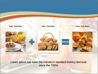Breakfast with coffee PowerPoint Templates - Slide 22