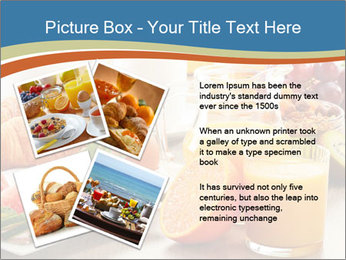 Breakfast with coffee PowerPoint Templates - Slide 23