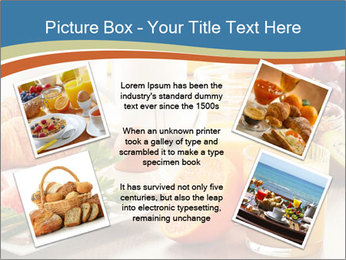 Breakfast with coffee PowerPoint Templates - Slide 24