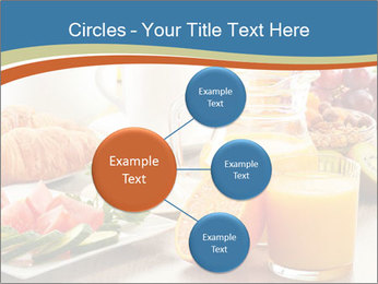 Breakfast with coffee PowerPoint Templates - Slide 79