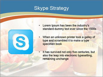 Breakfast with coffee PowerPoint Templates - Slide 8