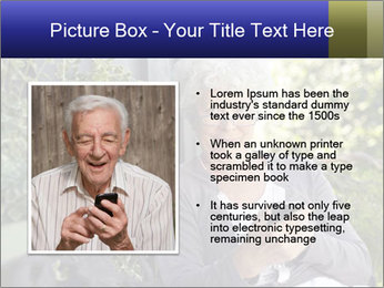 Senior woman PowerPoint Templates - Slide 13