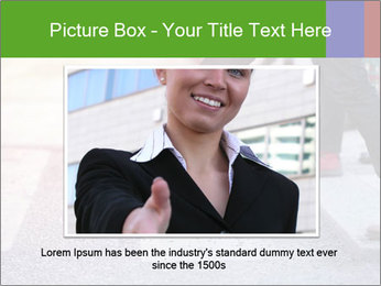 Man taking the step PowerPoint Template - Slide 15