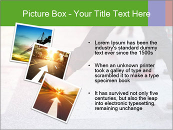 Man taking the step PowerPoint Template - Slide 17