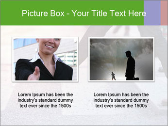 Man taking the step PowerPoint Template - Slide 18