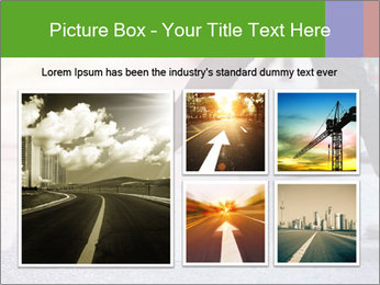 Man taking the step PowerPoint Template - Slide 19