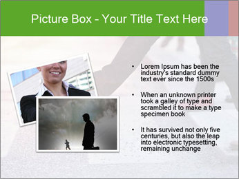 Man taking the step PowerPoint Template - Slide 20
