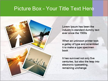Man taking the step PowerPoint Template - Slide 23