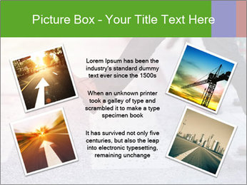 Man taking the step PowerPoint Template - Slide 24